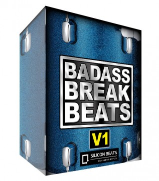 'Badass Breakbeats V1' - Drum Loops and Fills.