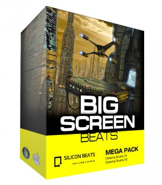 Cinematic Drum Loops - 'Big Screen Beats'.