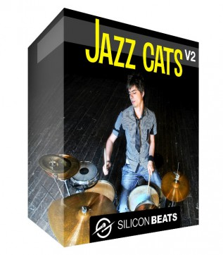 Jazz Drum Loops - 'Jazz Cats V2'.