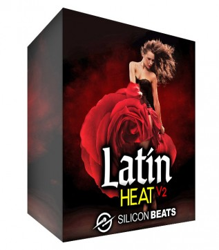 Latin Drum Loops with our 'Latin Heat V2' Sample Pack.