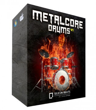 Give your beats Metalcore Drum Loops V1