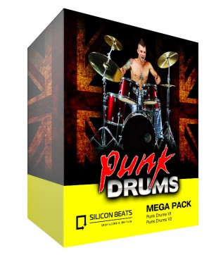 Punk Drum Loops and Sample Mega Pack
