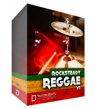 Rocksteady Reggae Drum Loops V1