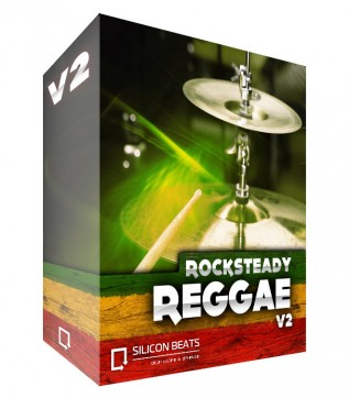 Reggae Drum Loops with 'Rocksteady Reggae V2' Sample pack.