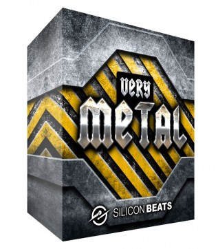'Very Metal Drum Loops and Samples' - Instant Download