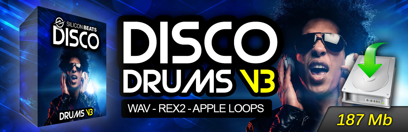 Download Disco Drums V3 - Instant Download