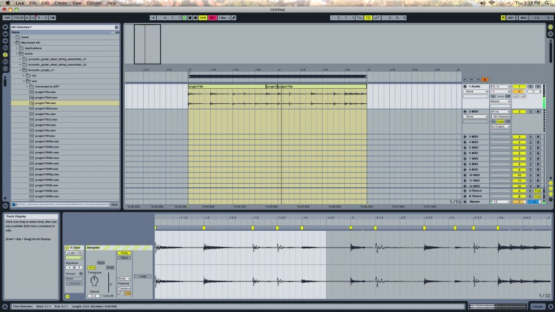 Ableton Drum Loops